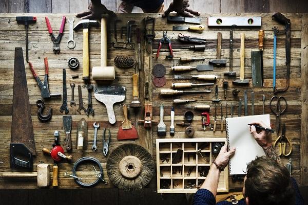 Albañilería: el kit de herramientas ideal.