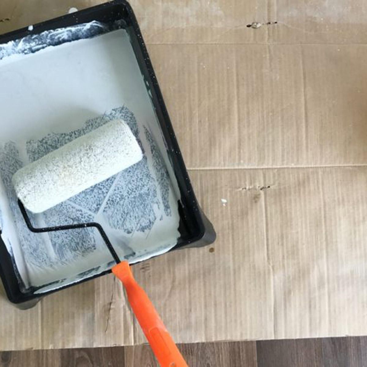 Prepara un nuevo rollo antes de pintar: truco brico …