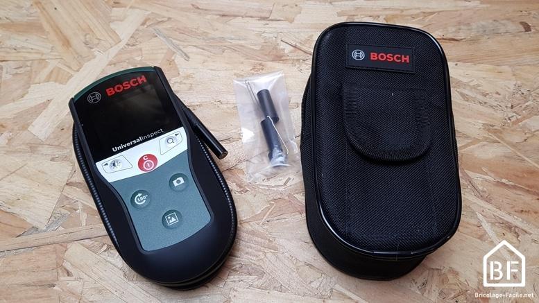 Cámara de inspección Bosch: prueba completa y revisión