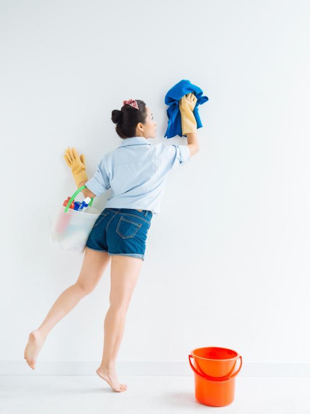 Cómo lavar una pared fácilmente: Sepalo todo