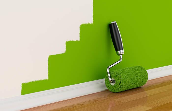 Cómo pintar con un rodillo: consejos de pintura …