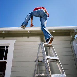 Consejo de herramientas: ¿cómo usar una escalera segura?