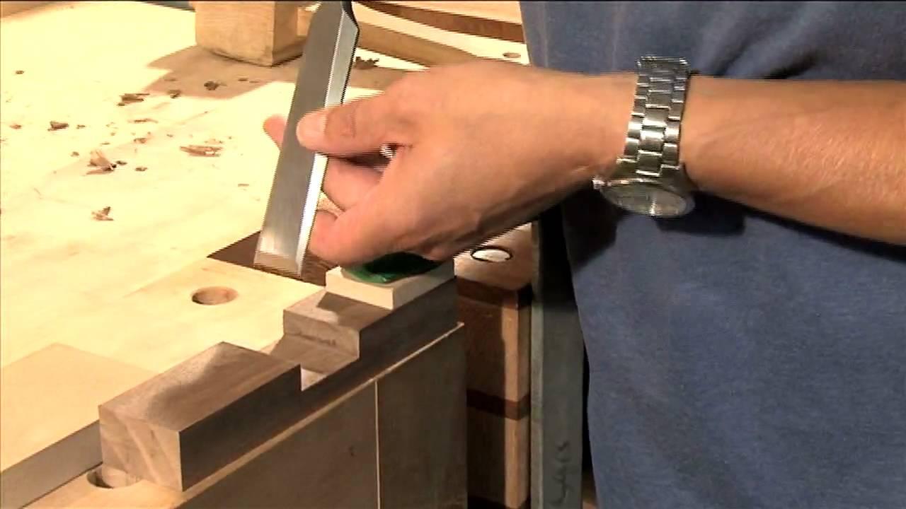 Carpintería: cómo utilizar cinceles de madera.