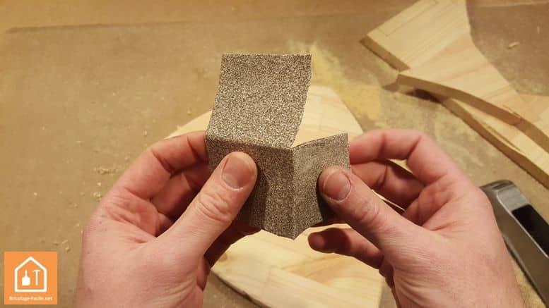 Consejo: ahorra papel abrasivo