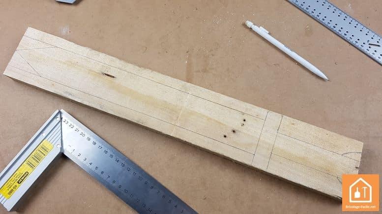 Espada de madera-plantilla