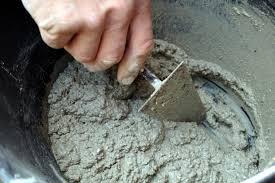 Como hacer mezcla de cemento y arena: proporciones del mortero o concreto