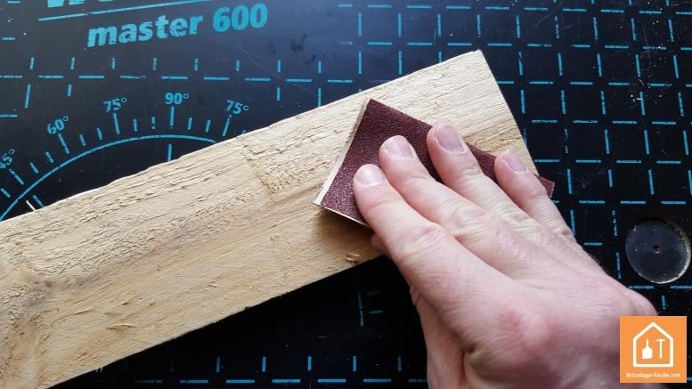 Hacer un perchero rustico con palets de madera
