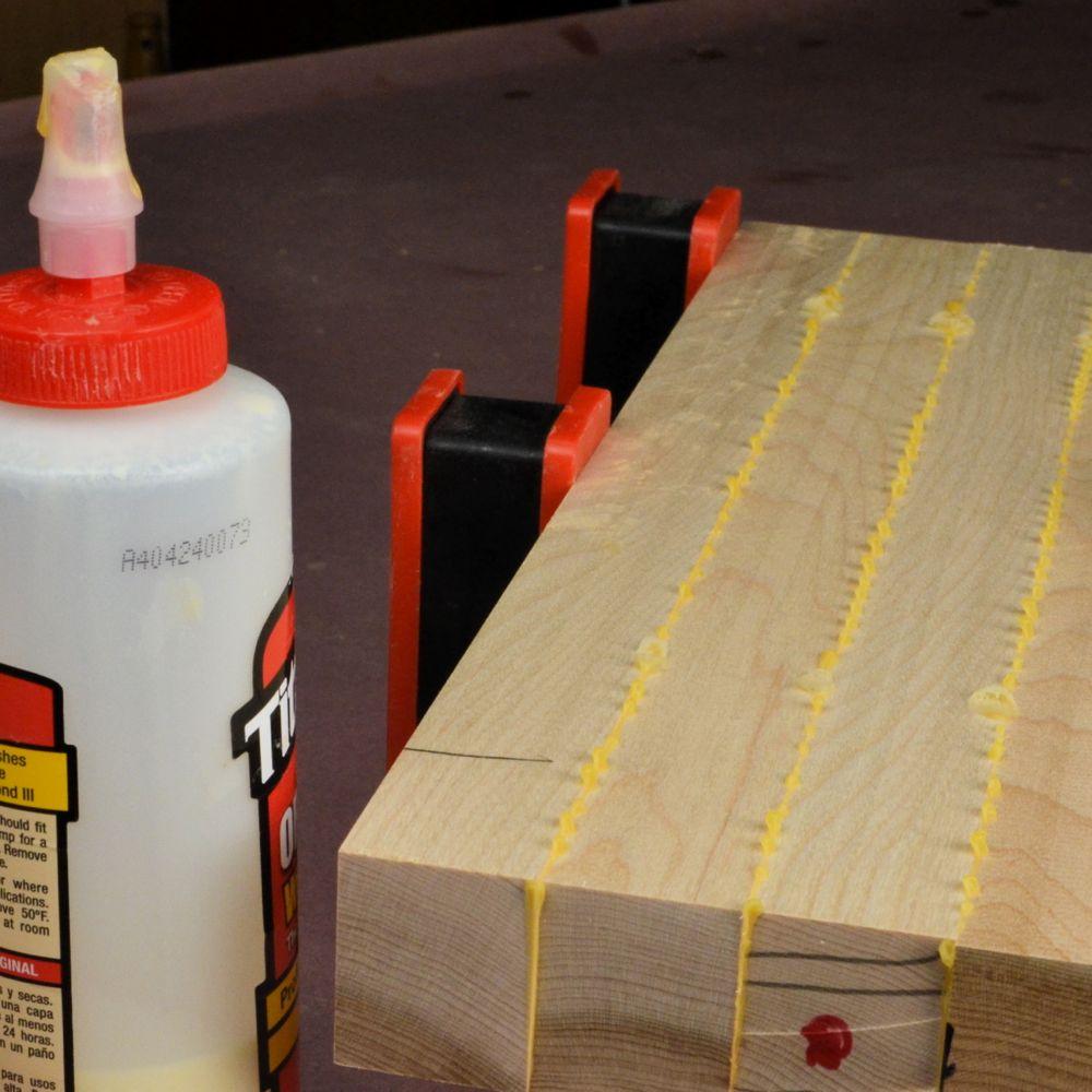 Pegamento de madera: cómo hacerlo de forma limpia y sencilla.