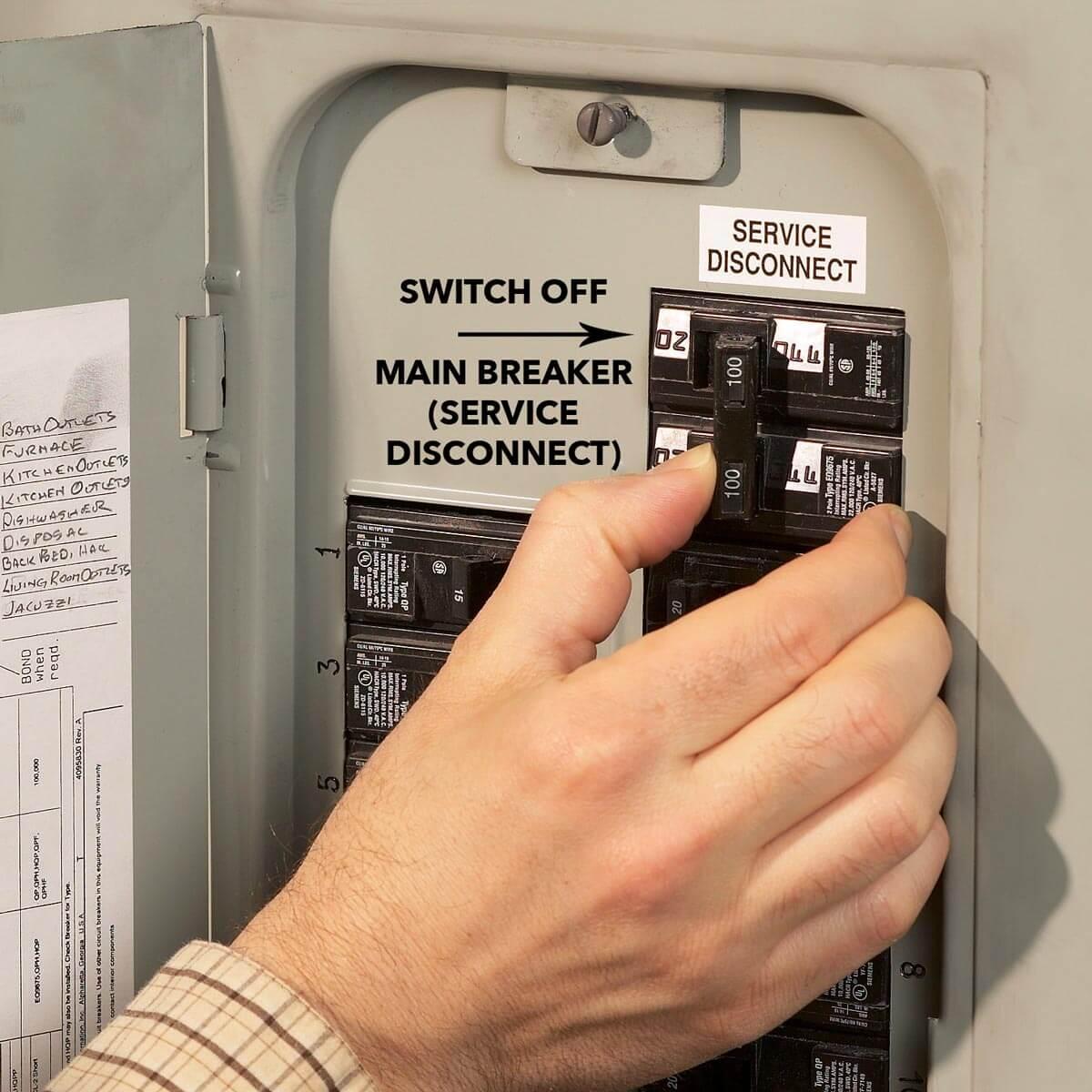 ¿Qué es un interruptor de circuito eléctrico?